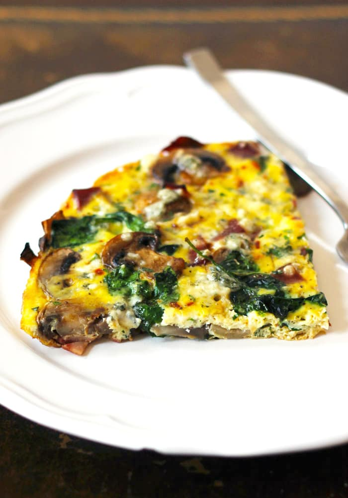 Spinach And Feta Frittata Recipe — Dishmaps