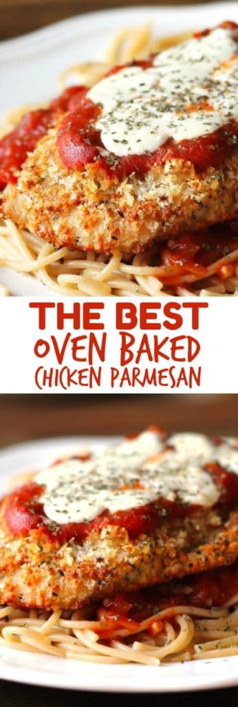 Oven Baked Chicken Parmesan Smile Sandwich