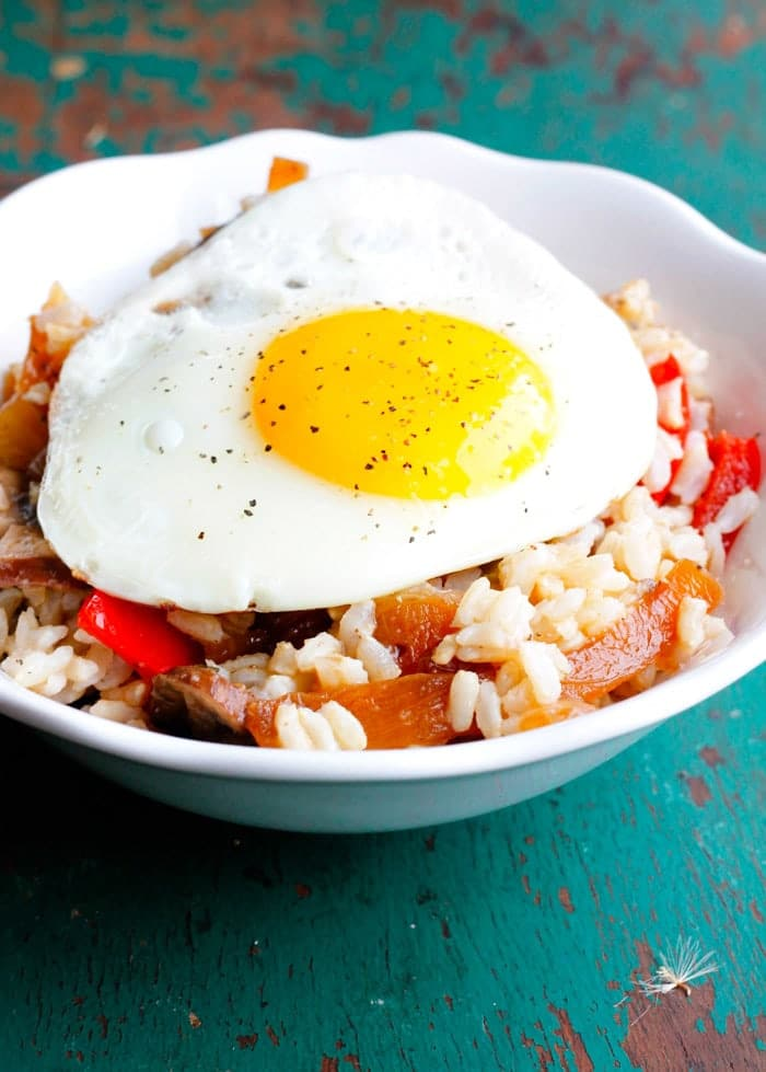 Cherry Breakfast Rice Bowls Recipe — Dishmaps