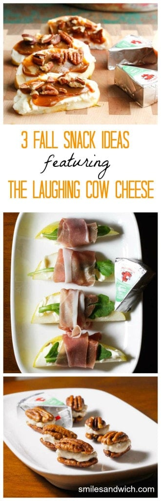 3 Fall Snack Ideas Featuring The Laughing Cow Cheese