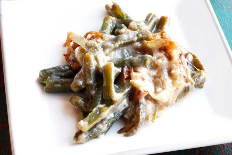 Clean Eating Green Bean Casserole