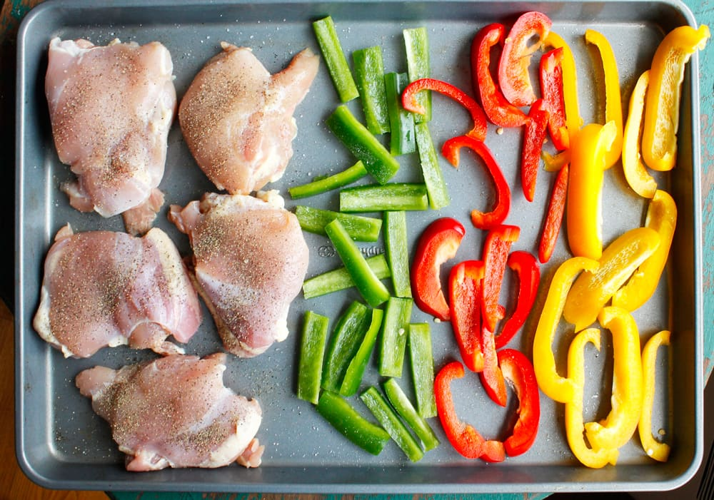 One Pan Chicken And Peppers6