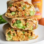 Whole Wheat Breakfast Burritos