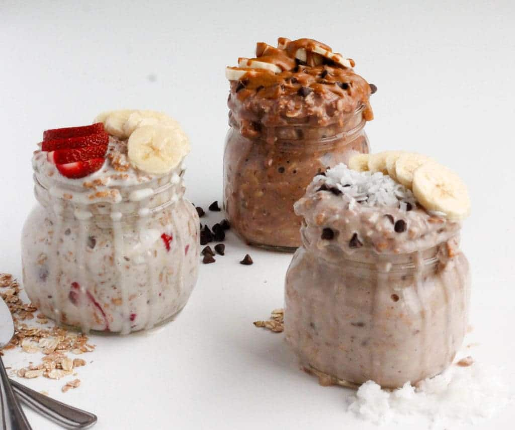 Overnight Oats in a Jar 3 Quick Healthy Recipes-3
