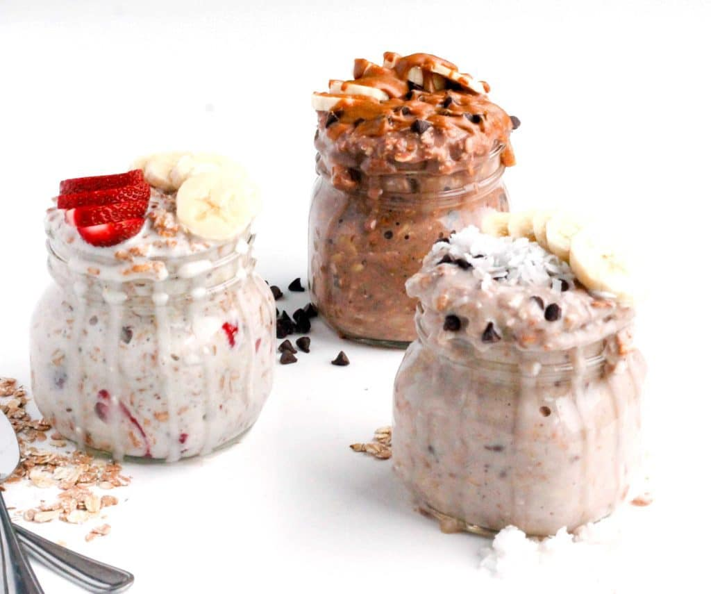 Overnight Oats in a Jar 3 Quick Healthy Recipes