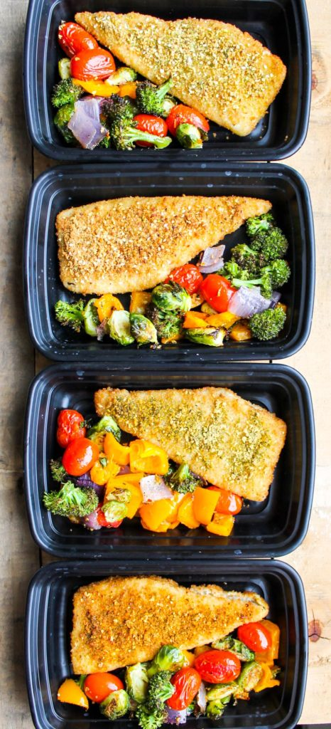 30 Minute One Pan Fish And Vegetables Smile Sandwich