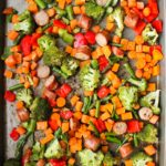 One Pan Sausage and Vegetables Meal Prep