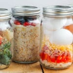 Make-Ahead Healthy Breakfast Meal Prep Jars: 4 Ways