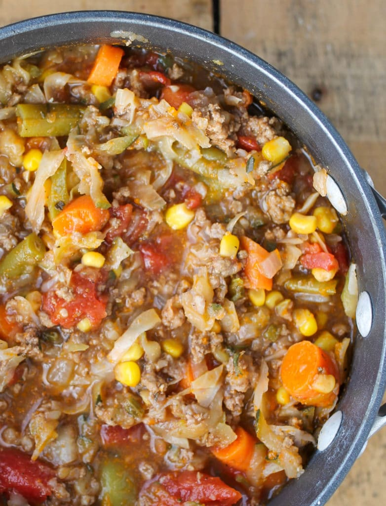 Beef And Cabbage Soup Recipe
