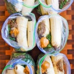Best Make-Ahead Peanut Butter Banana Green Smoothie Freezer Packs