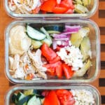 Instant Pot Greek Chicken Power Bowls: Healthy Meal Prep Recipe