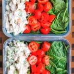 Veggie-Packed Chicken Salad Meal Prep