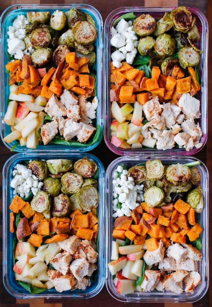 Fall Harvest Meal Prep Bowls