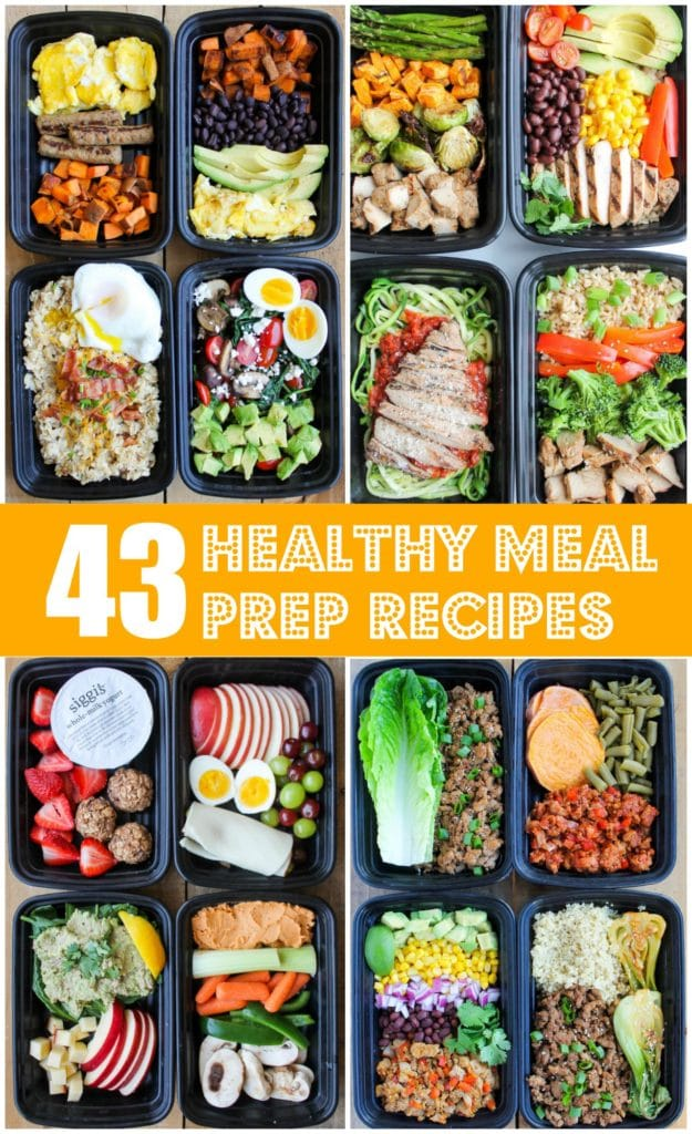 43 Healthy Meal Prep Recipes