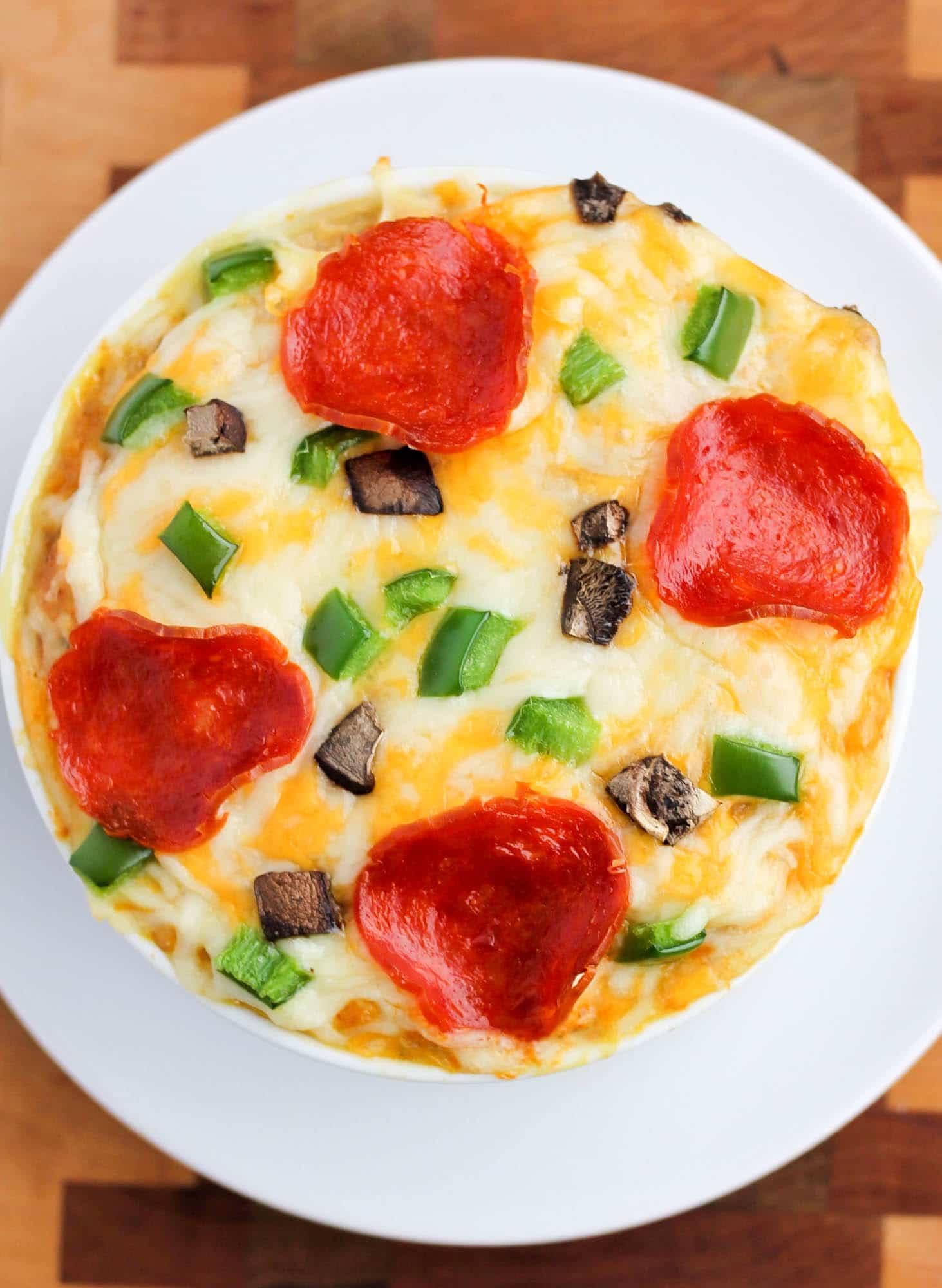 Pizza Spaghetti Squash Smile Sandwich